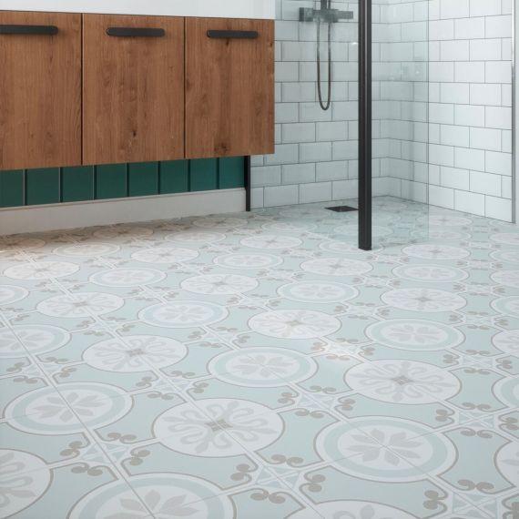 Riberia Aqua Pre-Scored Matt Glazed Ceramic Tiles