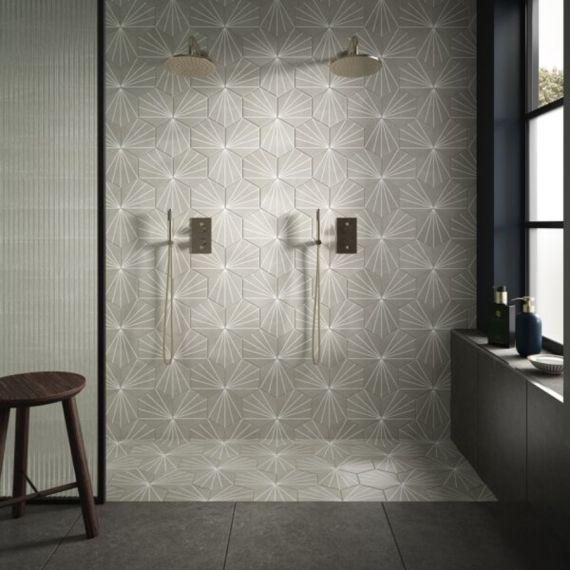 Lilypad Grey 8.7mm Matt Glazed Tile