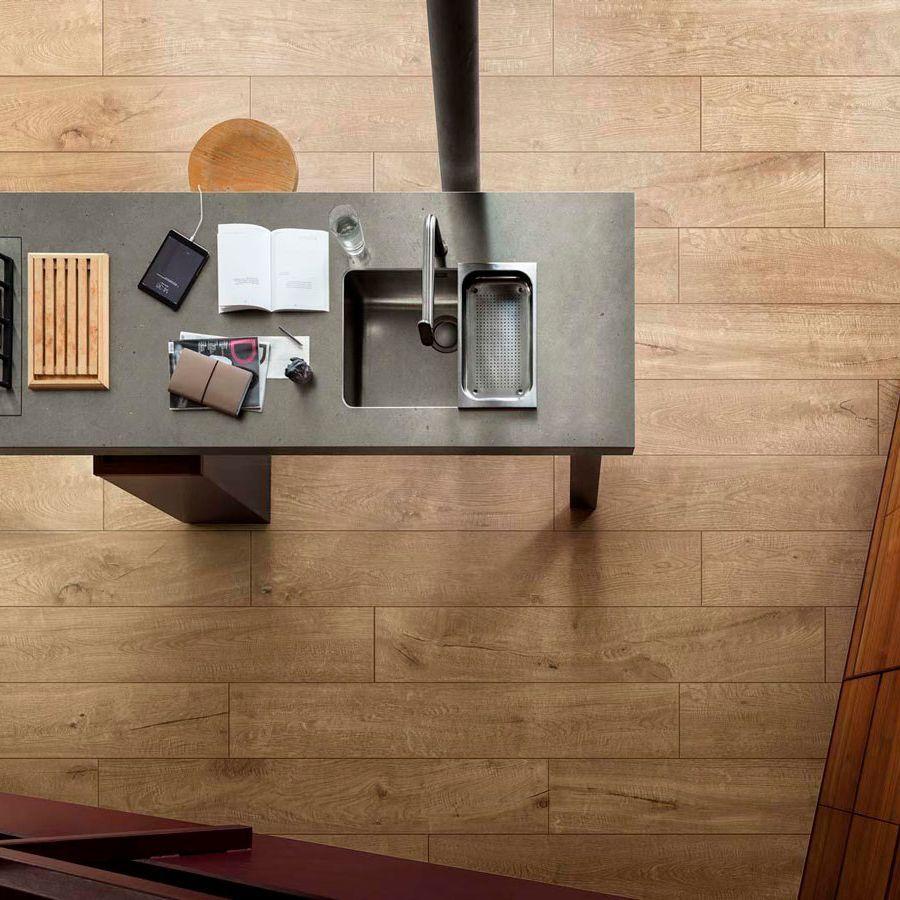 Legno di lusso Natural Wood Effect Tile vero