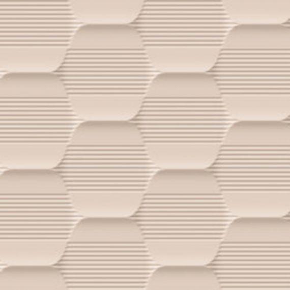 Hexagon Nude Wall Tile