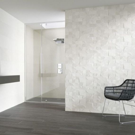Reims Narbonne Blanco 25 x 40 cm Wall Tile