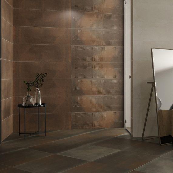 Vulcano Corten Ceramic Wall Tile