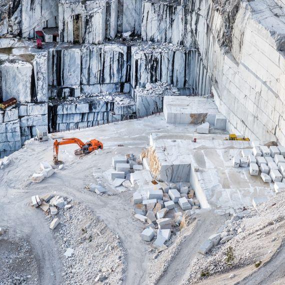 Carrara Bianco Honed Marble Wall and Floor Tile
