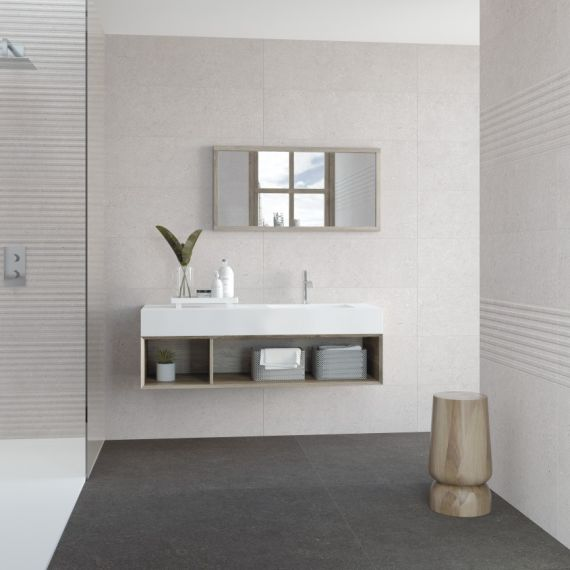 Mitica Blanco Wall and Floor Tile