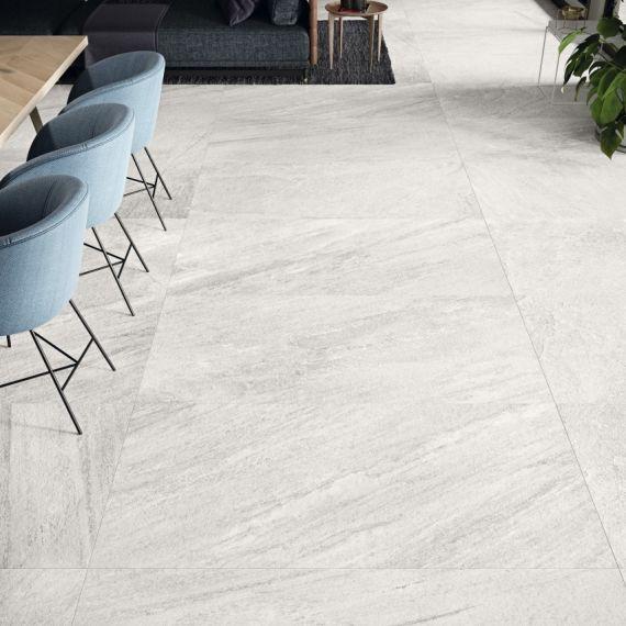 Indiana Blanco Stone Effect Floor Tile