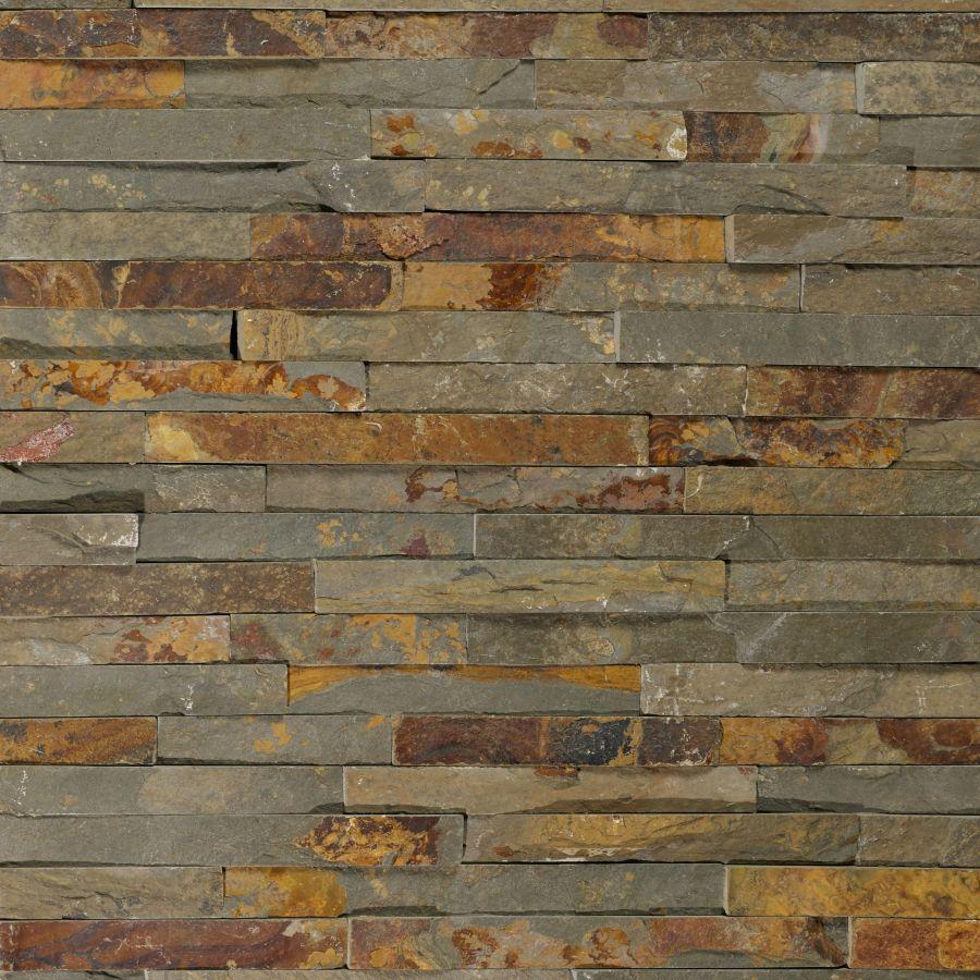 Rust Clad Split Face Tile